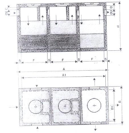 Fosse biologiche raimondi manufatti cemento for Fosse settiche in cemento
